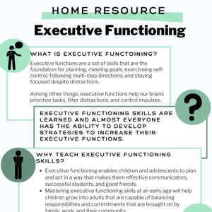 Executive Functioning Home Resource