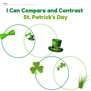 Compare and Constrast – St Patricks Day