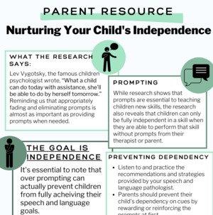 Nurturing Your Childs Independence