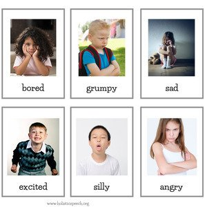 Feelings and Emotions Flashcards – Elementary