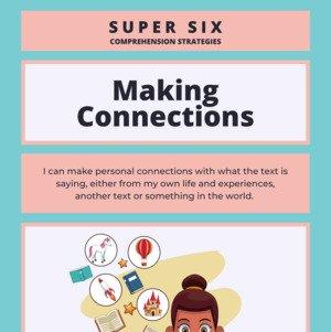 Super Six Reading Comprehension Classroom Poster