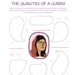 Women Who Lead Worksheet Bundle