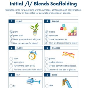 Initial l Blends Scaffolding Printable